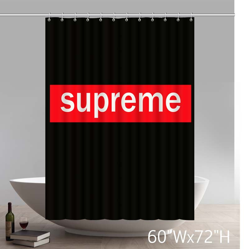 Symbol BravoVision I am Supreme Waterproof Polyester Shower Curtain