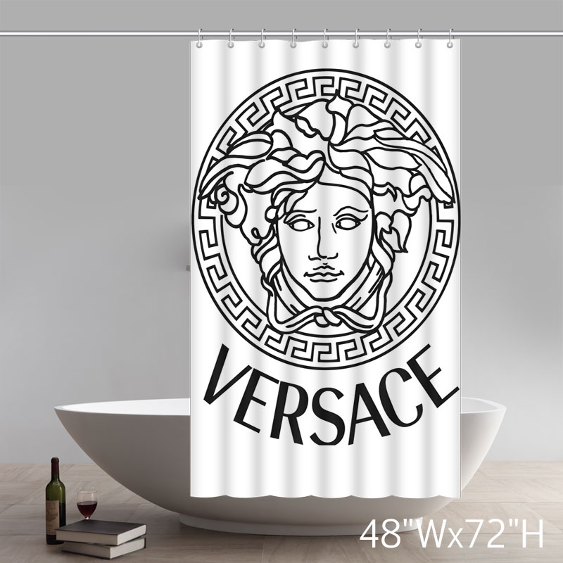 Symbol Supplier Flawless Creative Gorgeous Retro Versace Shower Curtain Shower 100% WaterProof Polyester Fabric